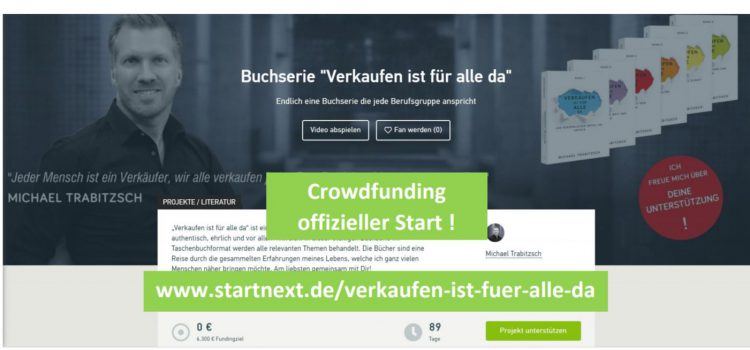 Crowdfunding – official launch