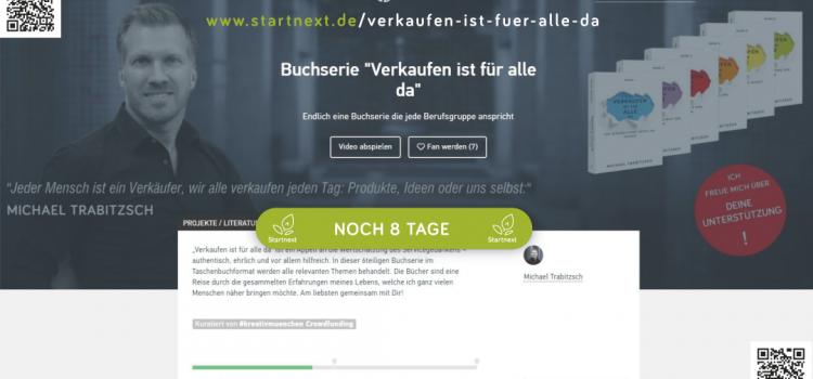 """Crowdfunding """"Verkaufen ist für alle da"""" – Endspurt"""